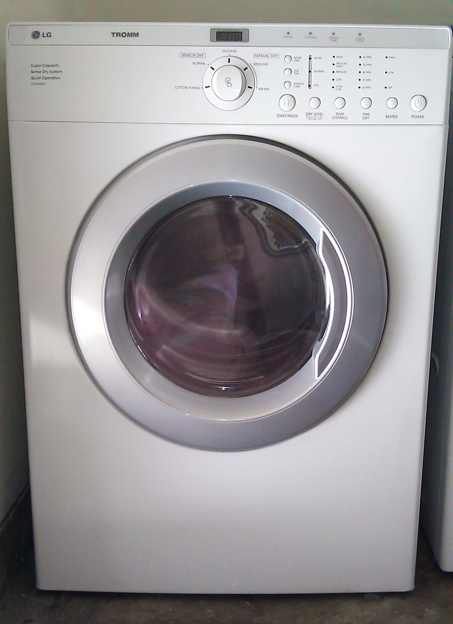 Fullsize Of Lg Tromm Dryer