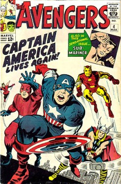 The Avengers #4 (Wikipedia)