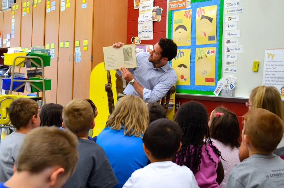Michael Burroughs at Park Forrest Elementary School