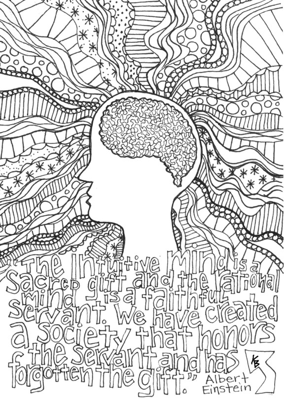 BrainWeek Coloring Contest World Campus Psychology Club