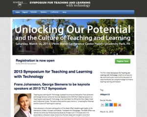 TLT Symposium Screenshot