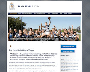 Penn State Rugby website