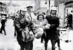 Jack Mundey arrested c1973
