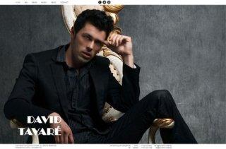 Сайт 'David Tavare'