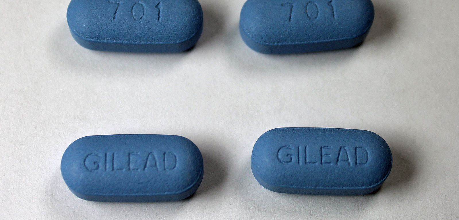 The anti-retroviral drug Truvada; Author- Jeffrey Beall's own work, from Wikimedia Commons