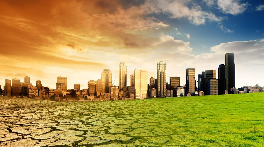 Global Warming Concept Art