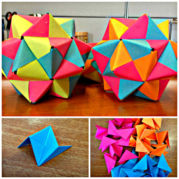 Origami and protein folding have a lot in common. You always start with a flat sheet of paper (a string of proteins), but depending on a lot of variables like the steps you take, or the size or thickness of the paper, the final products can differ drastically.