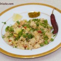 Maharashtrian Mixed Vegetable Upma
