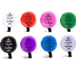 SIZZLE CITY Custom Colored Keep Calm & Nurse On Badge Reel Retractable ID Badge Holder Collection