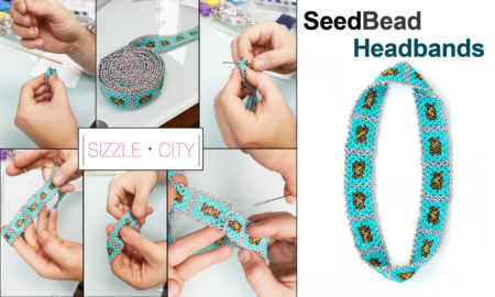 How to Make Our Native American Seed Bead Headband - Learn from our Sizzle City Designers on how to make one of our amazing Native American style seed bead headbands.