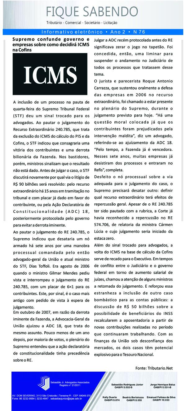 News n° 76- ano 2 - 08