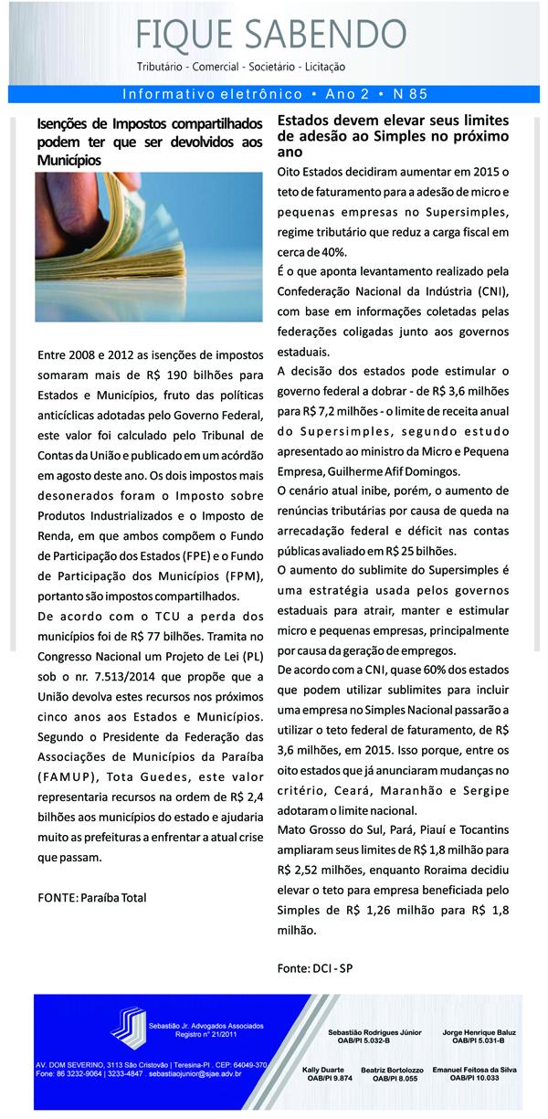 News n° 85- ano 2 - 06 GGG