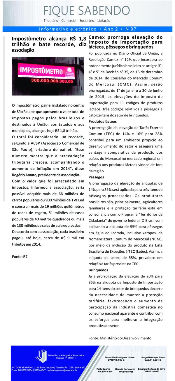 News n° 97- ano 2 -30