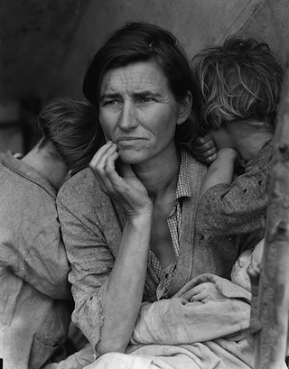 Migrant Mother Dorothea Lange 1936 320px