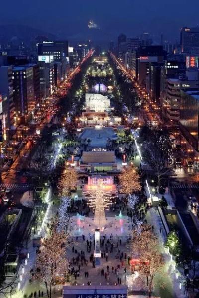札幌雪祭り2017の日程や雪像会場と失敗しない服装のポイント
