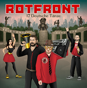 Skawesome Ska Outta Deutschland! Four Paws Up! Rotfront Rawks!