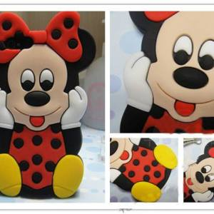 Minnie Mouse Silicon Case Cover For iPhone 5