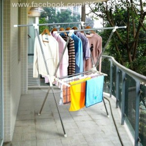 X Shape Fold-able Clothes Dryer