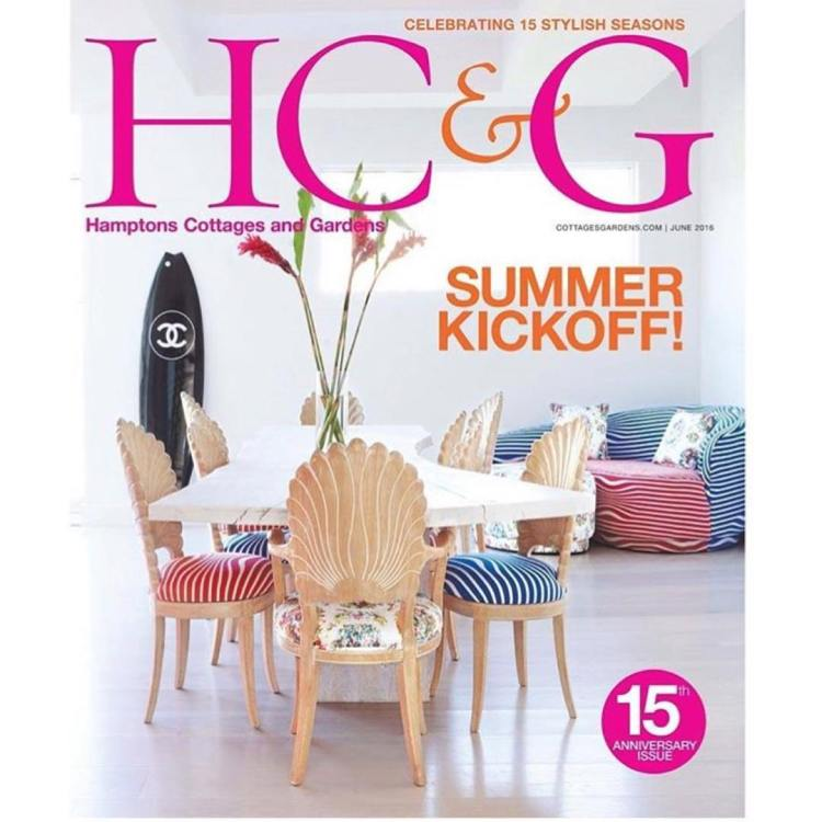 Love seeing my photo on the cover of cottagesgardens Hamptonshellip