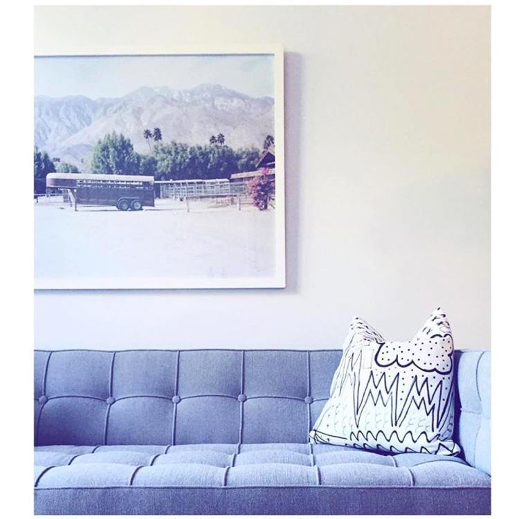 regram of christinedovey using one of my prints in herhellip