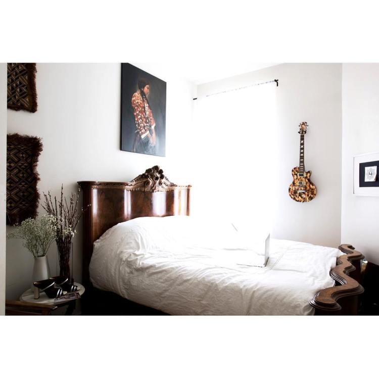 Check out the gorgeous bedroom in the Bedsty home ofhellip