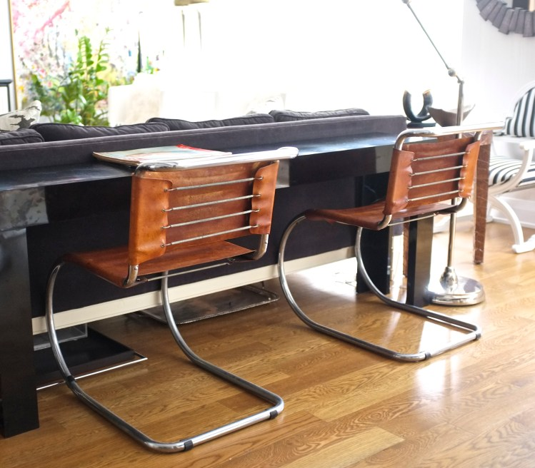 mies van der rohe mr10 chairs