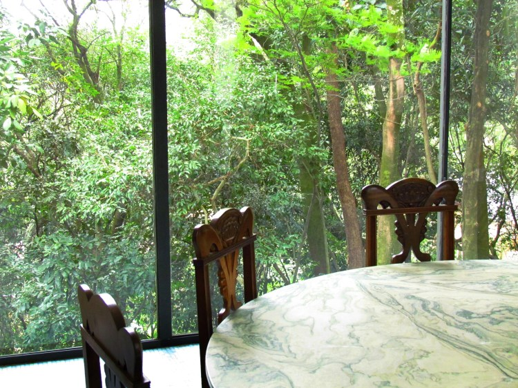 5-Dining table at Casa de Vidro