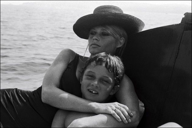 "08/00/1967. Brigitte Bardot at ""the madrague"" Saint Tropez"