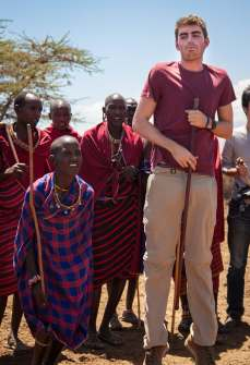 Alex Masai warriors dance