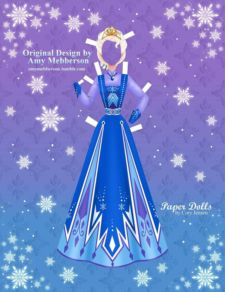 Disney 39 s Frozen Paper Dolls SKGaleana