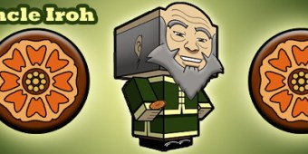 Uncle Iroh Cubeecraft By SKGaleana