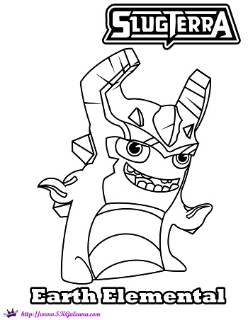 slugterra coloring pages transformation tuesday - photo#15