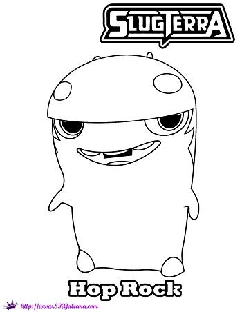 Slugterra Megamorph Slugs Coloring Pages Quotes
