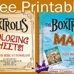 Box troll printable Maze and coloring oages SKGaleana