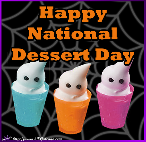 Celebrate National Dessert Day With Boo Treats Skgaleana