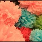 Tissue Paper Balls {tutorial}