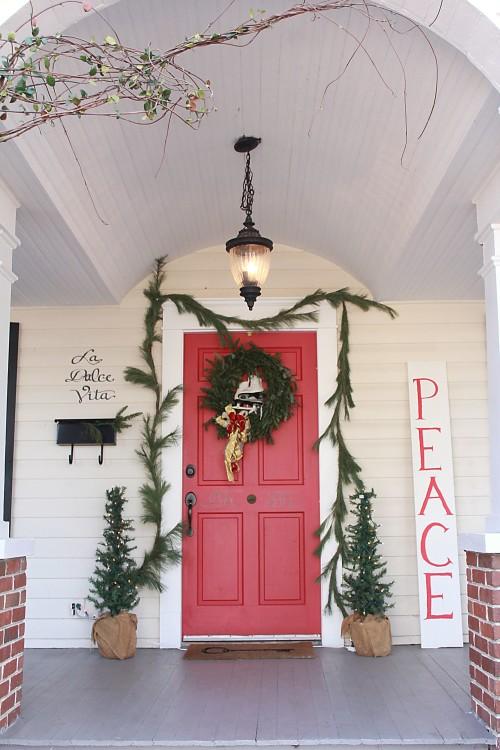 front cottage entrance