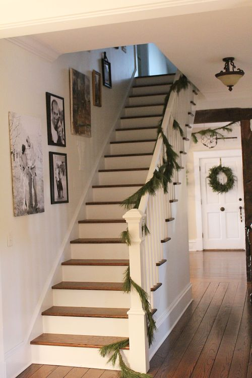 the new stairway
