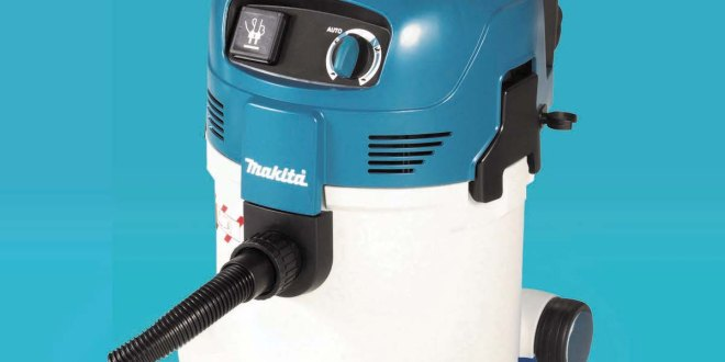 New Makita dust extractor removes 99.9% of dust