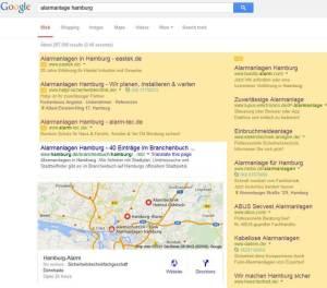 Screenshot Google Adwords Anzeigen