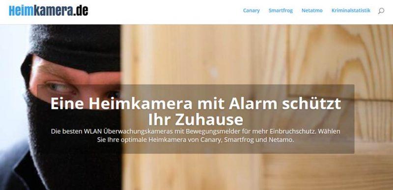 Beispiel Landingpage. Quelle: Skillday.de