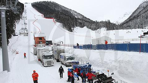 Финалната зона е готова, остават дребни довършителни работи. Снимки: Николай Дончев/BGLive