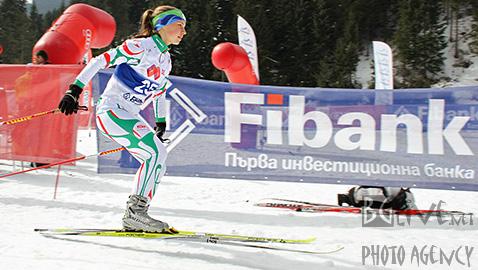 Антоанета Дяксова от отбора на Александър Логистик е победител при девойките. Снимки: Николай Дончев/BGLive