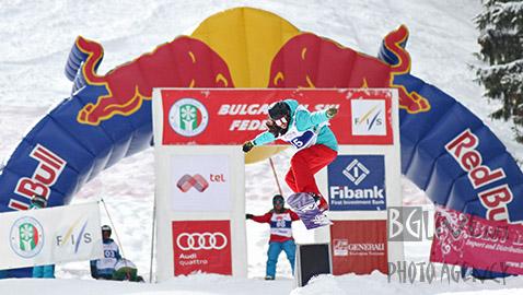 Победителката в слоуп стайла при жените Марина Тодорова. Снимки: Николай Дончев/BGLive