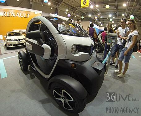 ...електомобили могат да се видят на автосалон 2013.   Снимки: BGLive