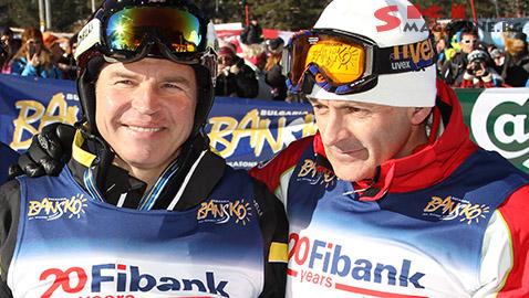 Марк Жирардели и Пепи Попангелов могат да бъдат видени често заедно по българските курорти. Снимка: BGLive/SkiMag