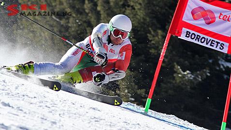 Стефан Присадов нбаправи добра горна част, но изпусна врата малко преди финала. Снимка: Николай Дончев BGLive/SkiMag