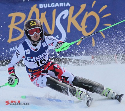 Победителката Ана Фенингер. Снимки: Николай Дончев/SkiMagazine