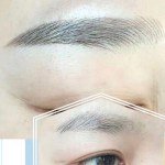 EYEBROW SHADING BEFORE AND AFTER