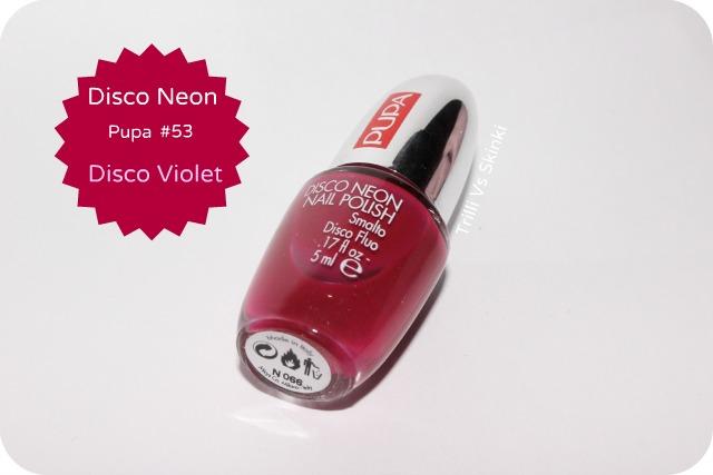 Neon Violet Pupa